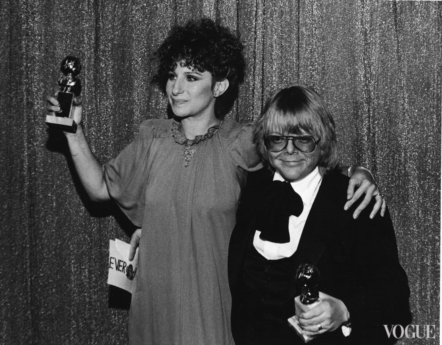 Барбара Стрейзанд и Пол Уильямс (1977)
