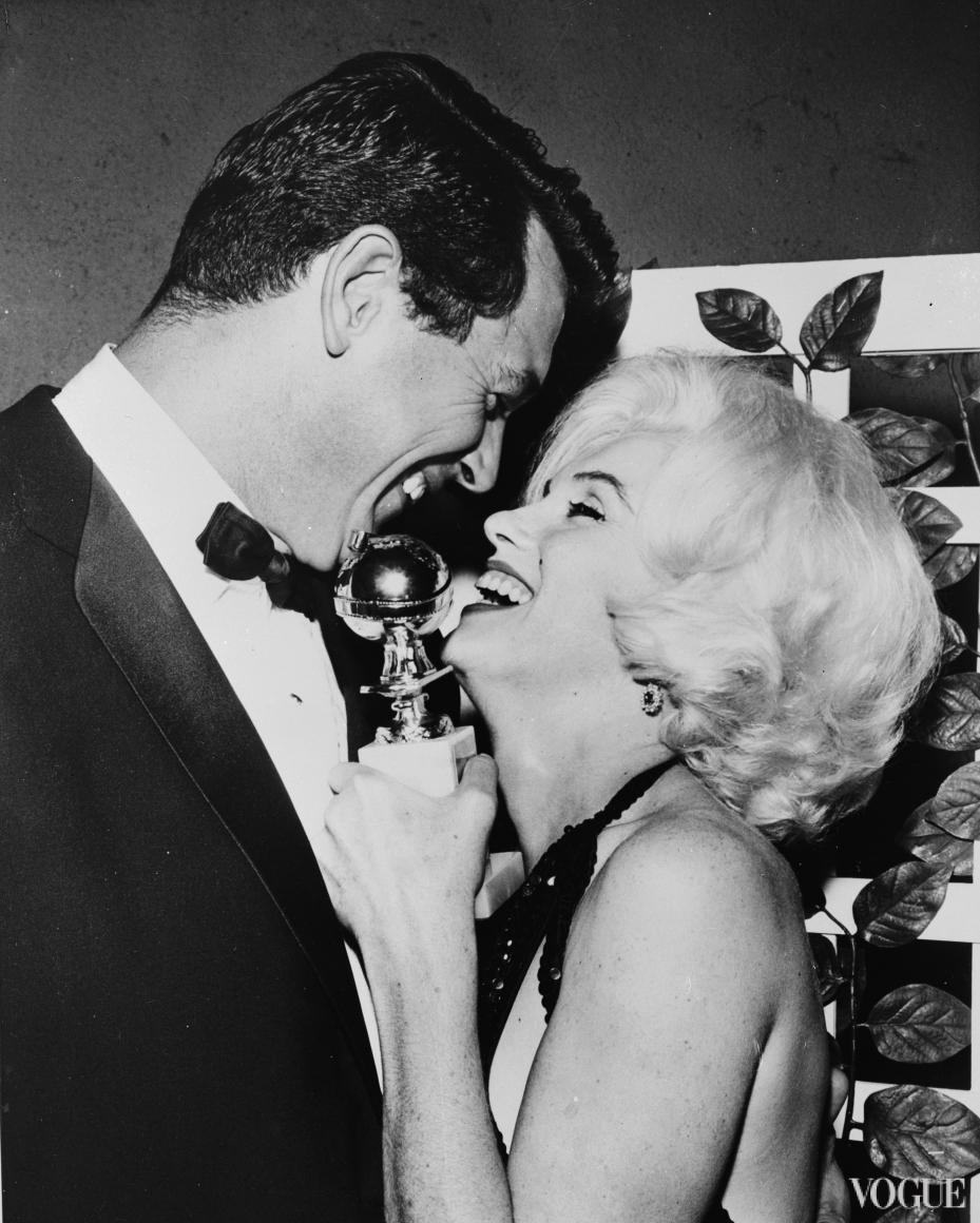Мэрилин Монро и Рок Хадсон (1962)