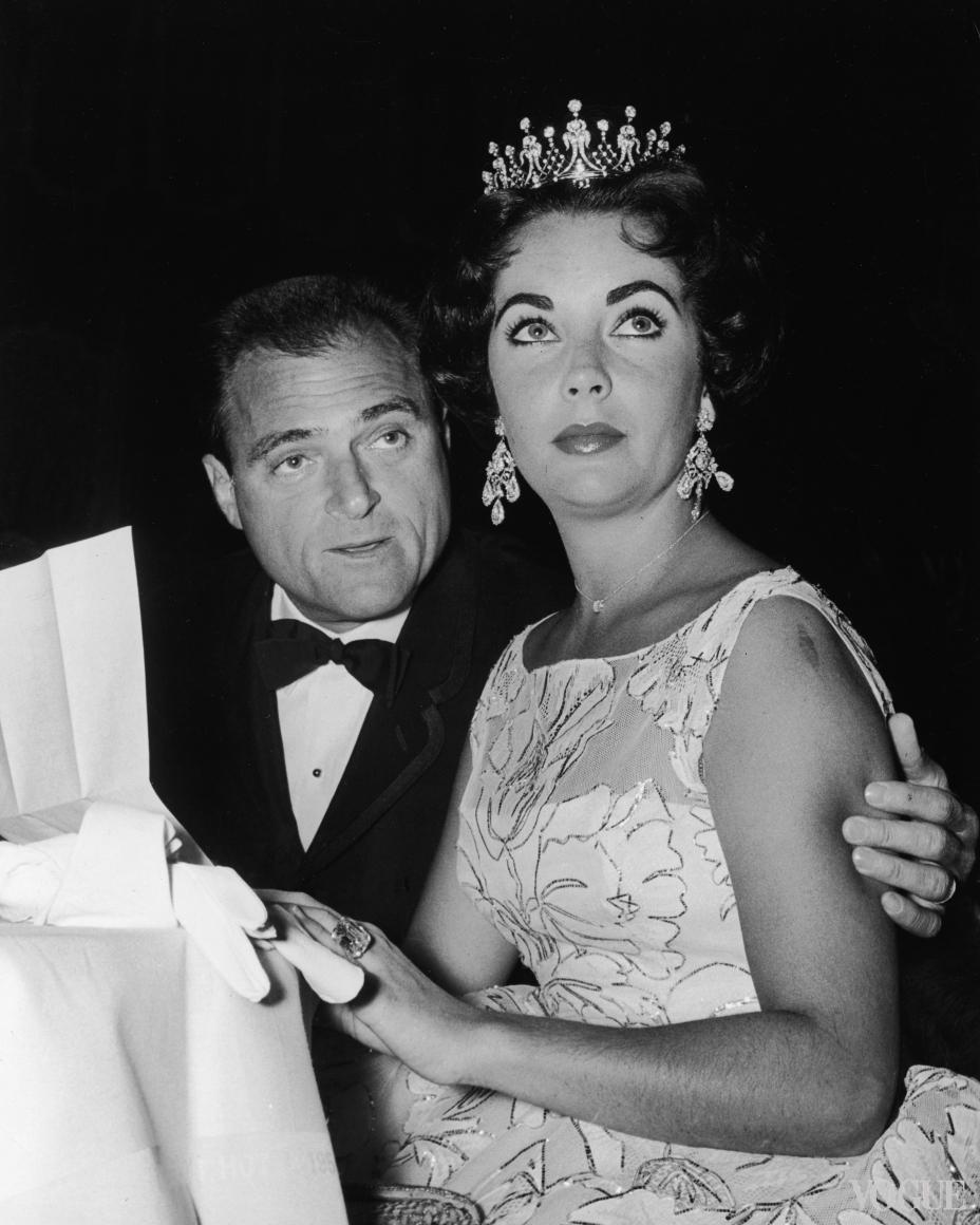 Элизабет Тейлор и Майкл Тодд (1957)