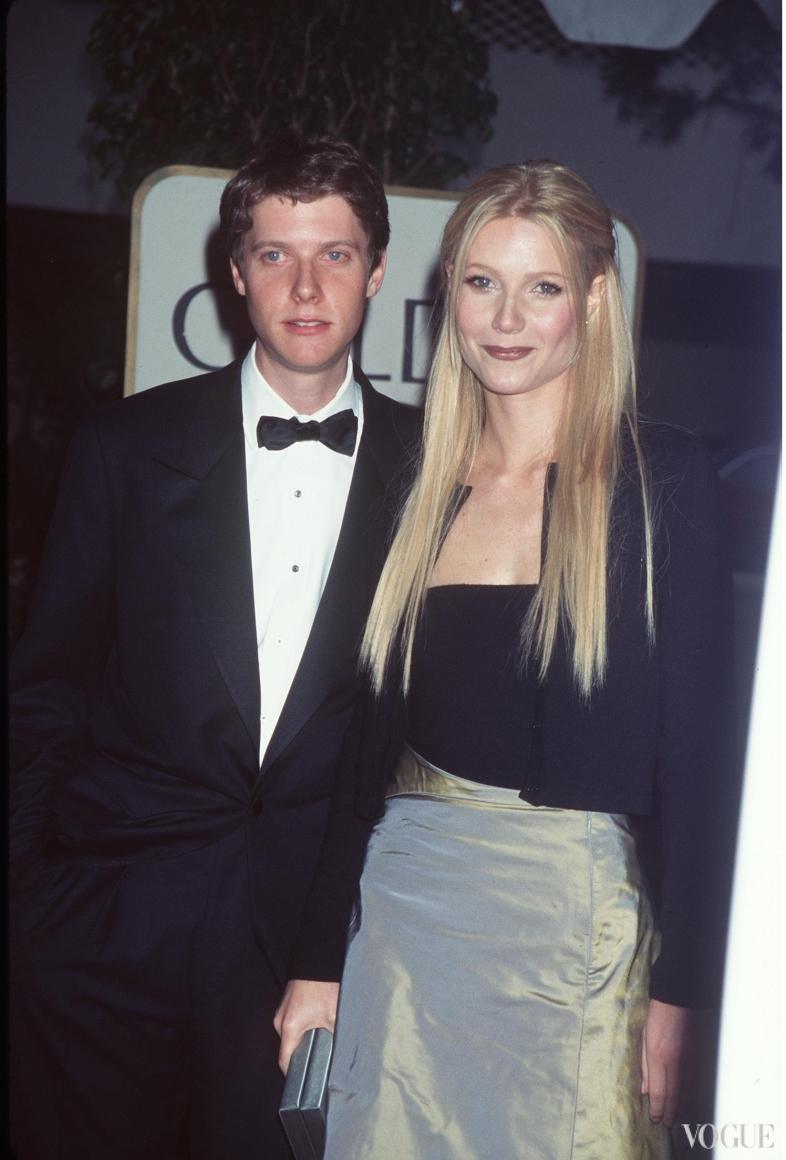 Гвинет Пэлтроу с женихом (1999)