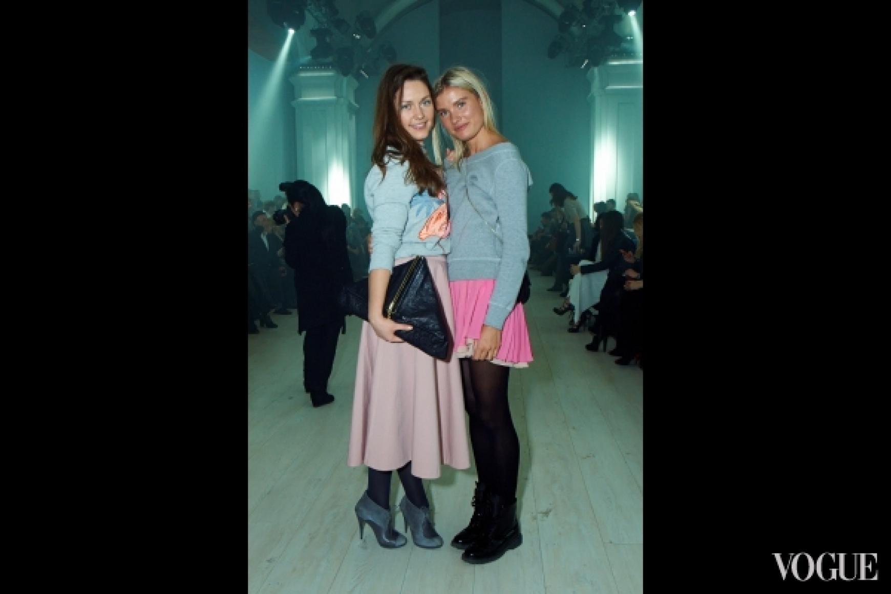 Валентина Грищенко (справа)