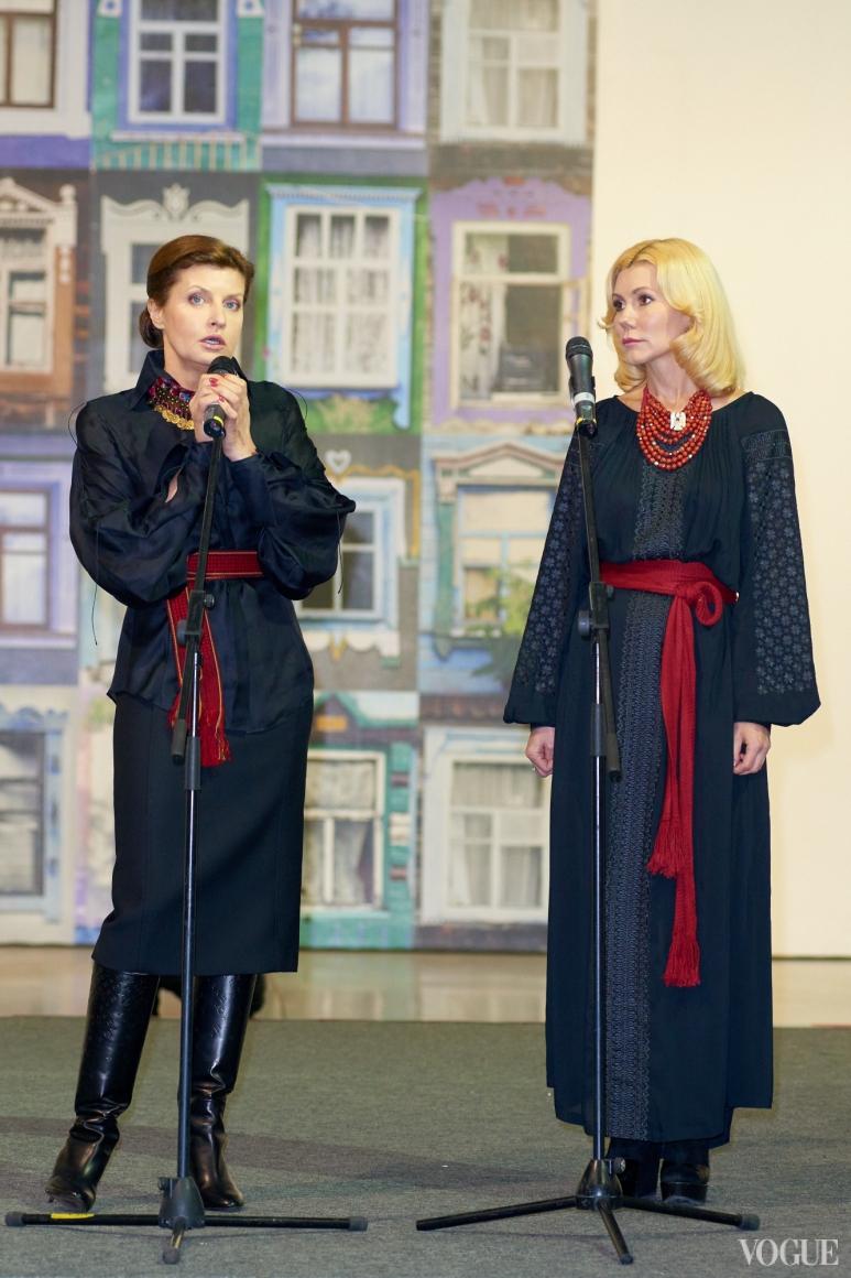 Марина Порошенко и Наталья Заболотная
