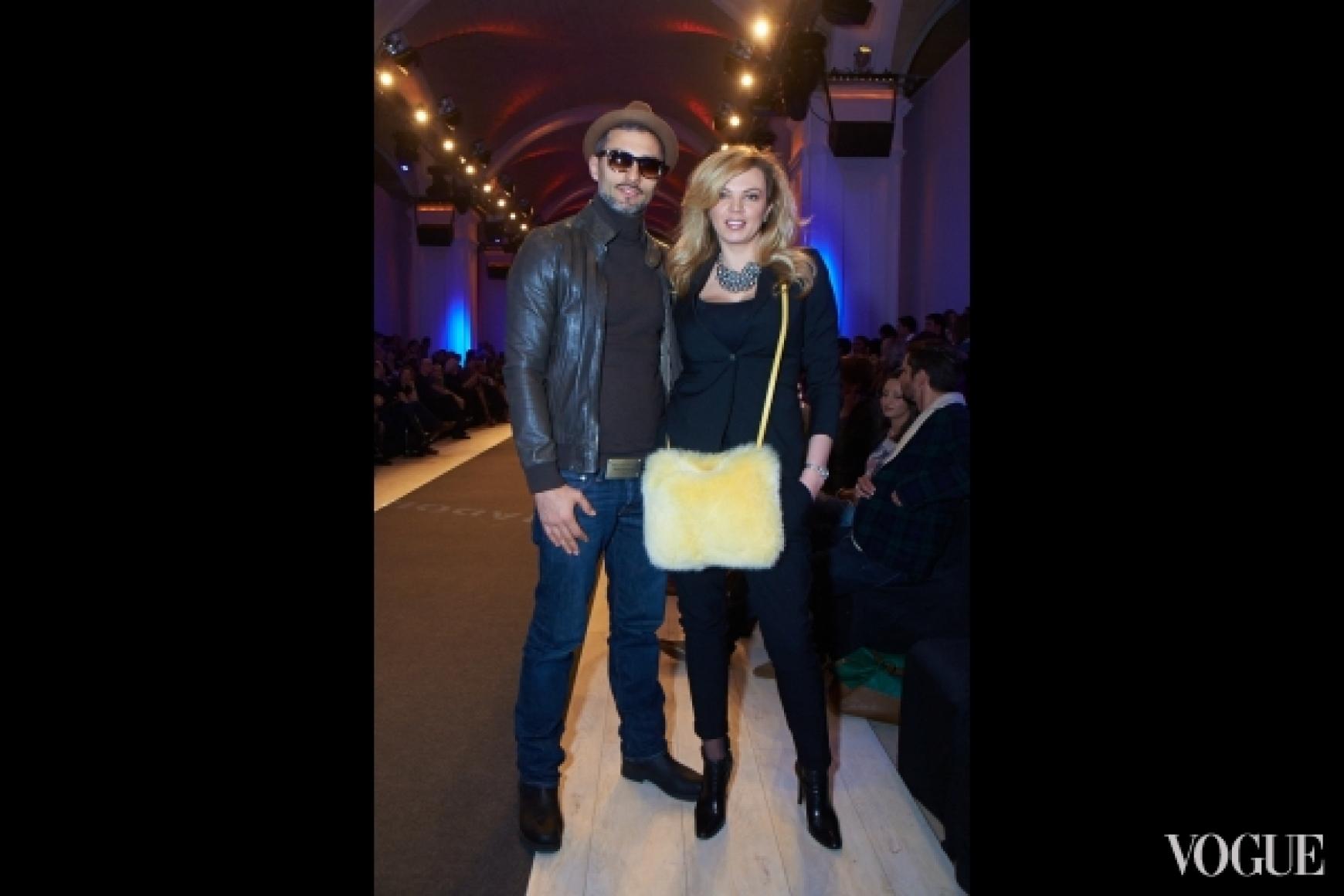 Андрей Кише с супругой