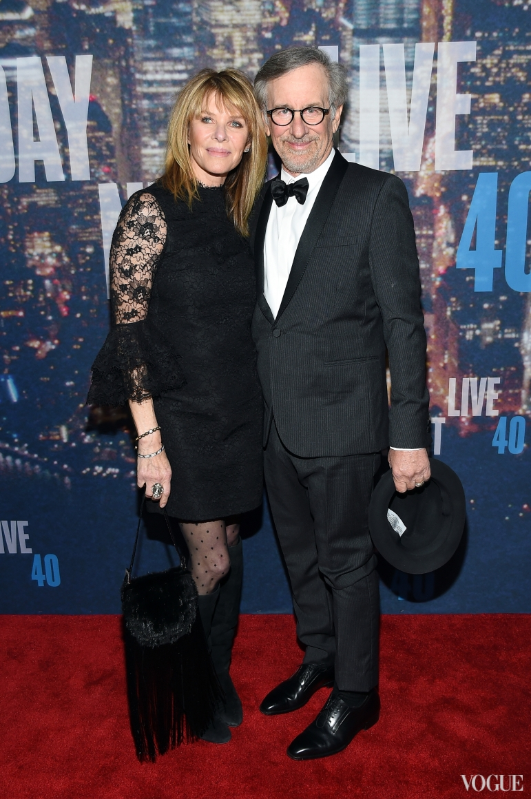 Стивен Спилберг с супругой Кейт Кэпшоу