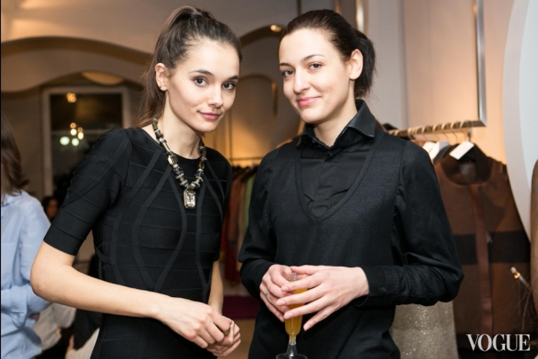 Катерина Федоренко и Даша Заривная