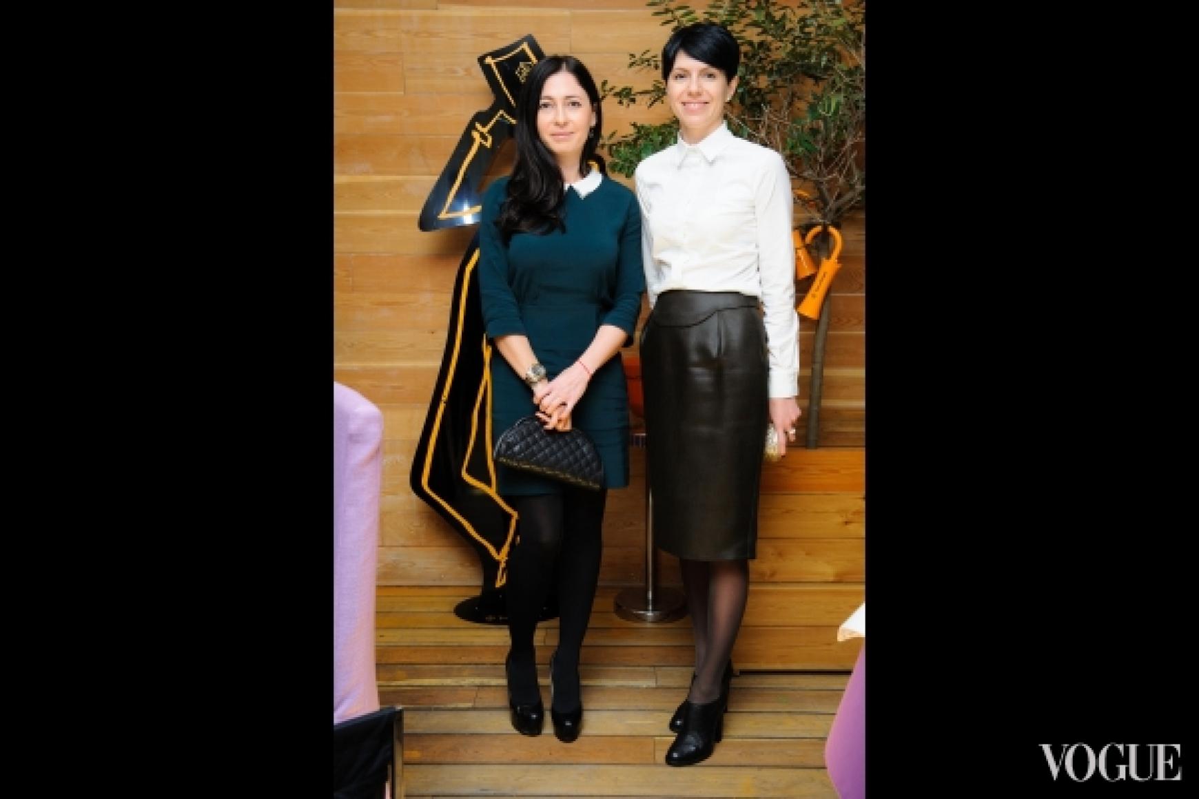 Аксения Черницкая и Марина Щербенко