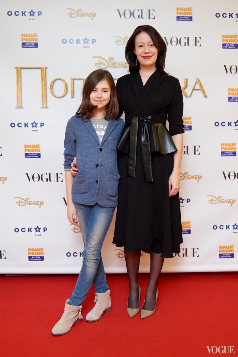 Ирина Тимофеева с дочерью