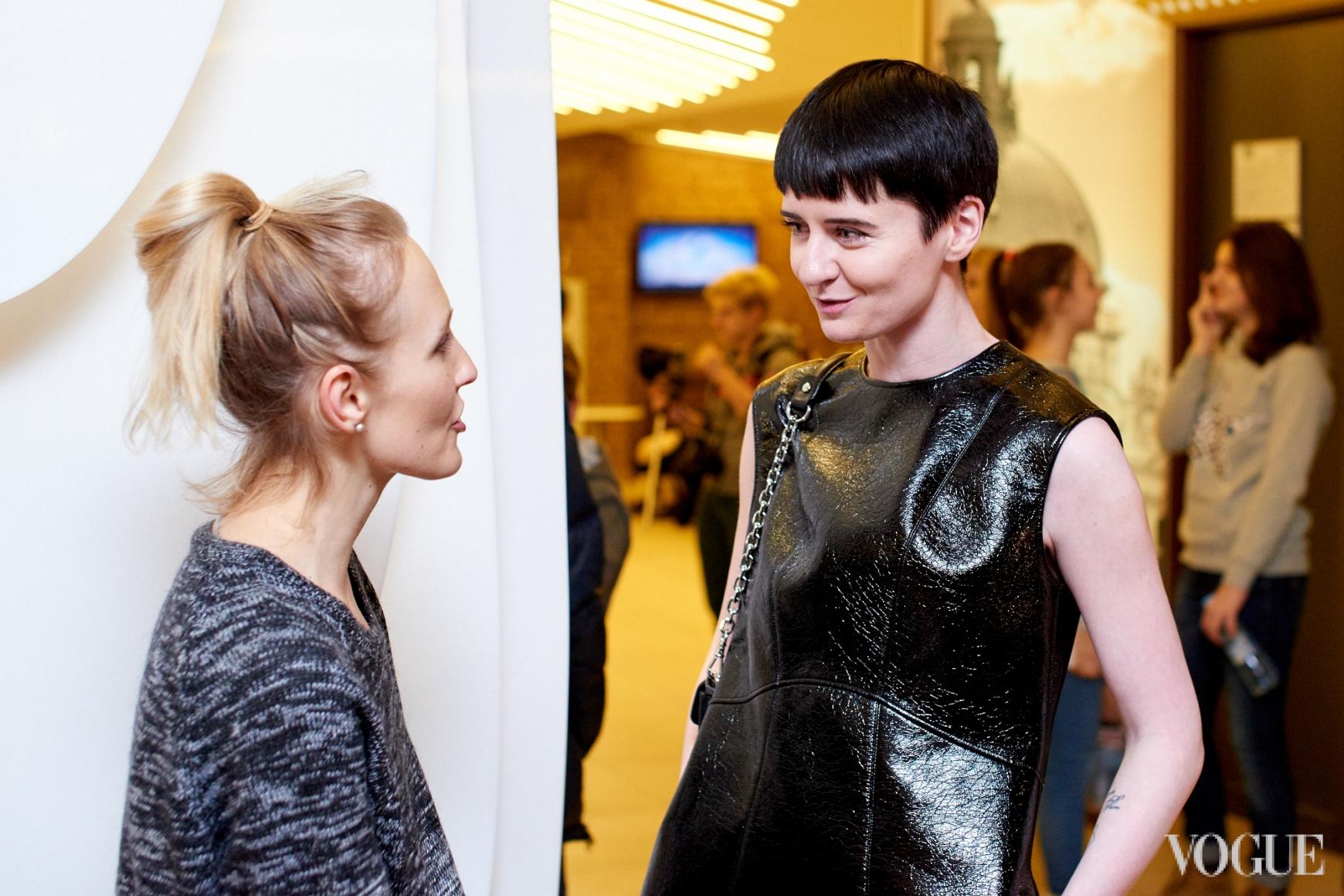 Анна Пащенко и Ольга Януль