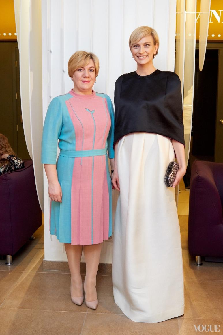 Ирина Заря и Маша Цуканова