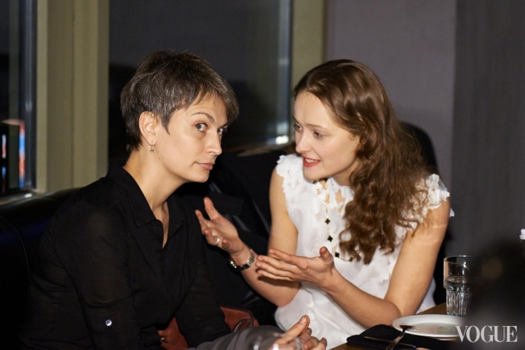 Маша Цуканова и Даша Шаповалова
