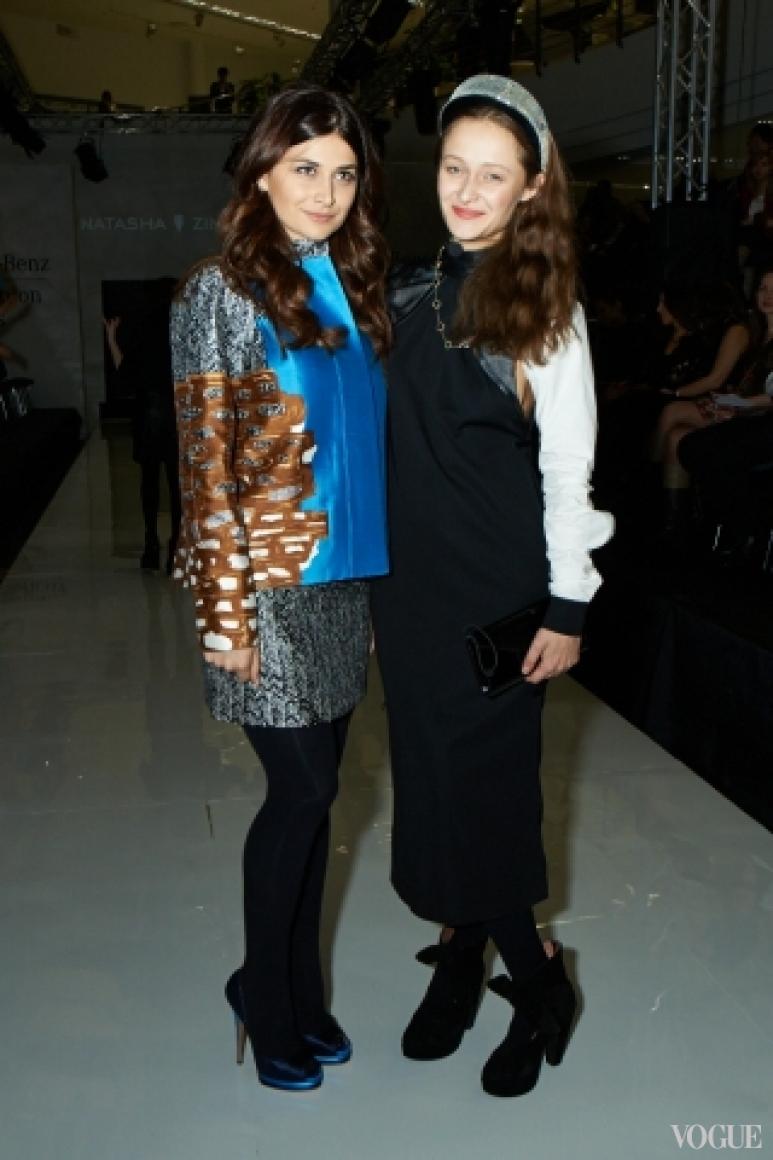 Нина Васадзе и Даша Шаповалова