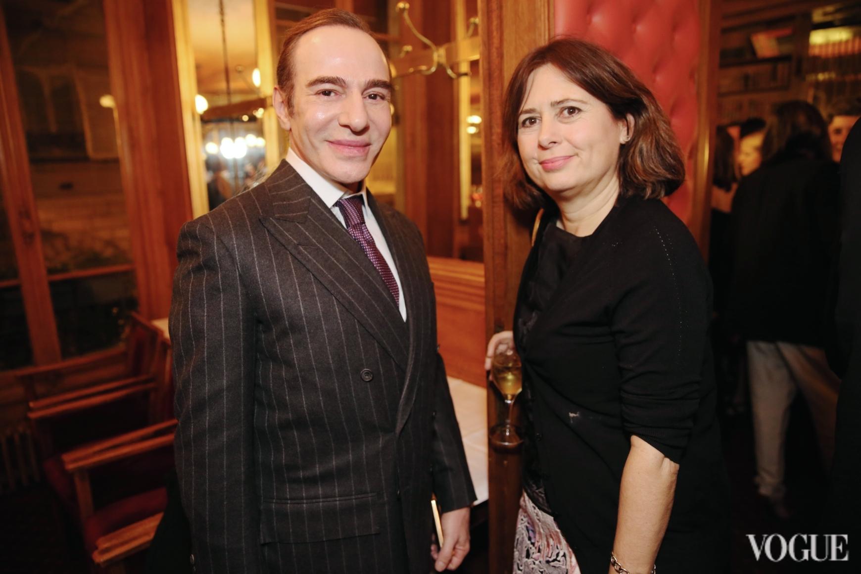 Джон Гальяно и Александра Шульман