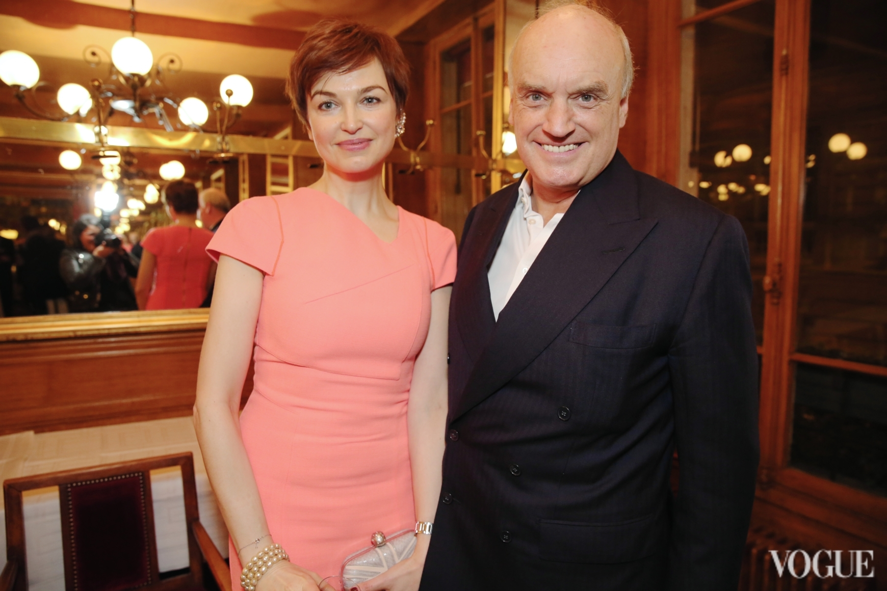 Карина Добротворская и Николас Колридж