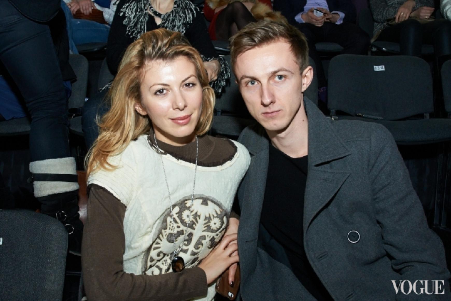 Марыся Горобец и Саша Трофименко
