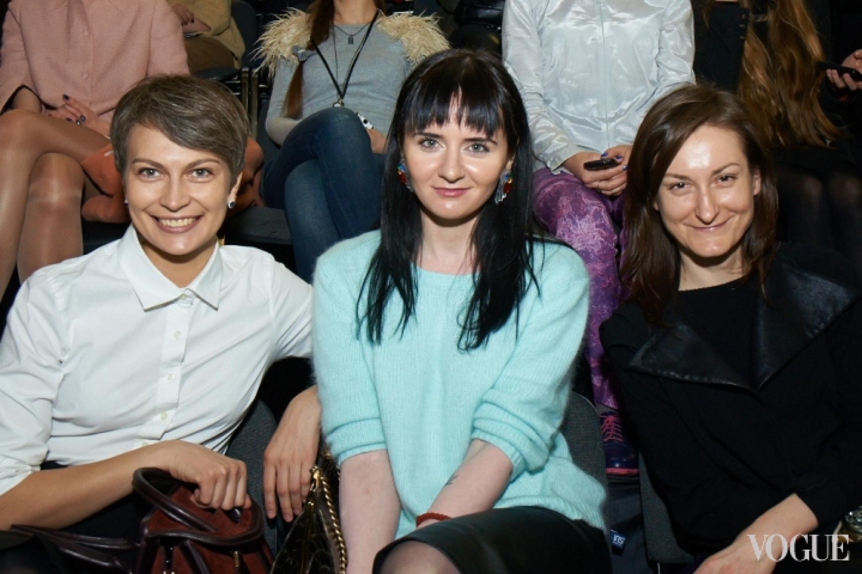 Маша Цуканова, Ольга Януль, Татьяна Соловей