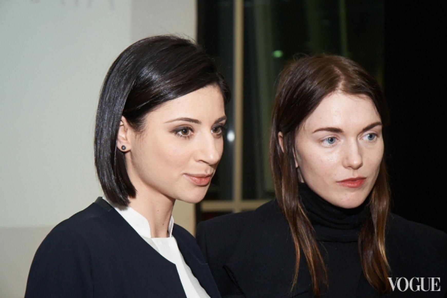 Светлана Бевза и Лиля Литковская