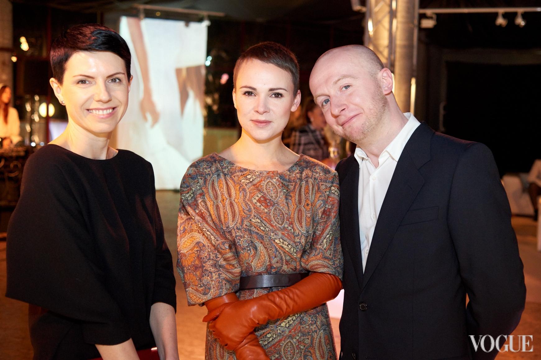 Марина Щербенко, Катя Березницкая и Евгений Березницкий