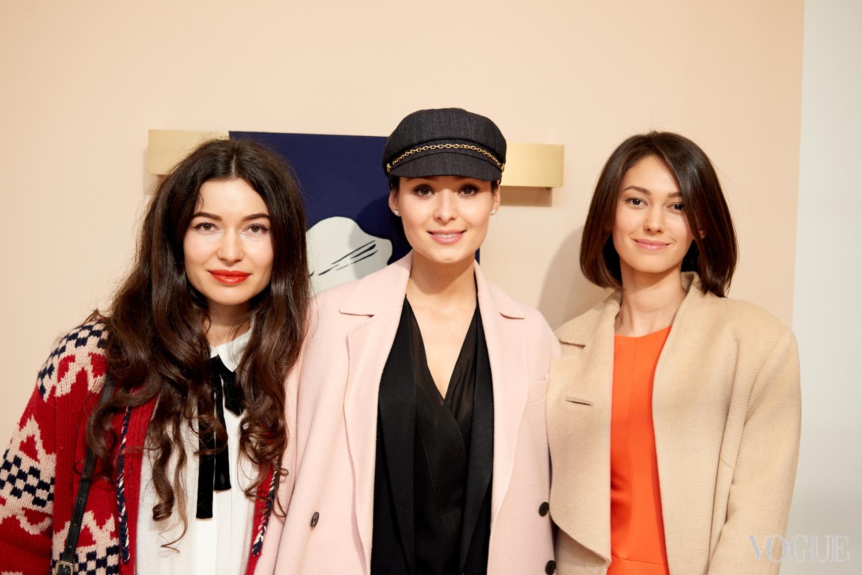 Александра Червоненко, Зоя Литвин и Катерина Горина