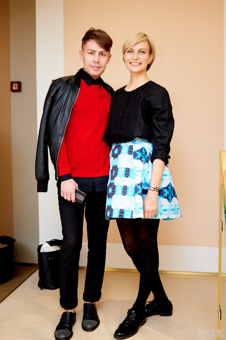 Алексей Прищепа и Маша Цуканова