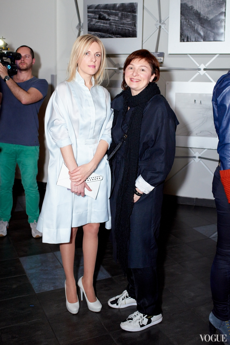 Юлия Костецкая и Кристина Бобкова
