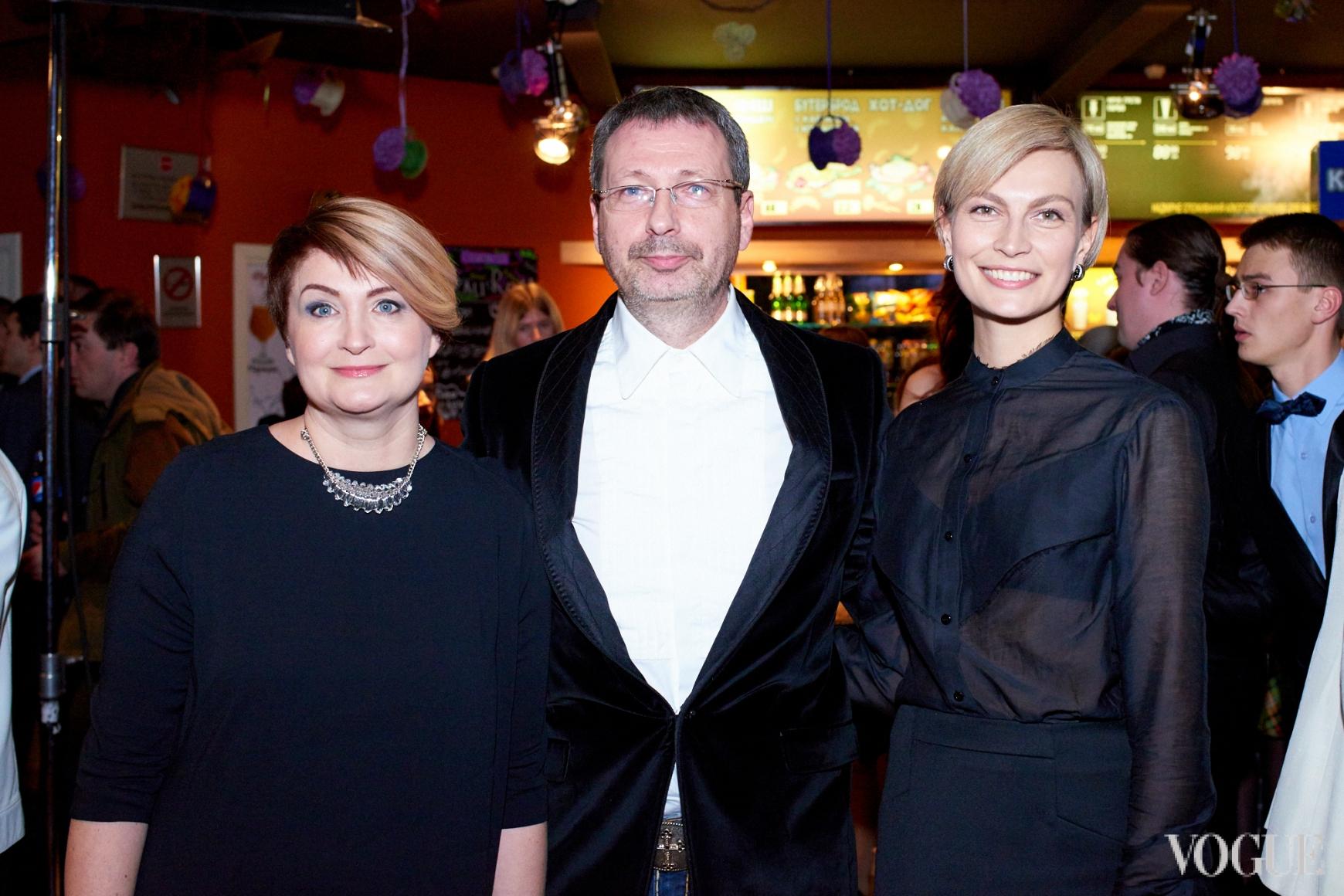 Ирина Данилевская, Вадим Яценко и Маша Цуканова