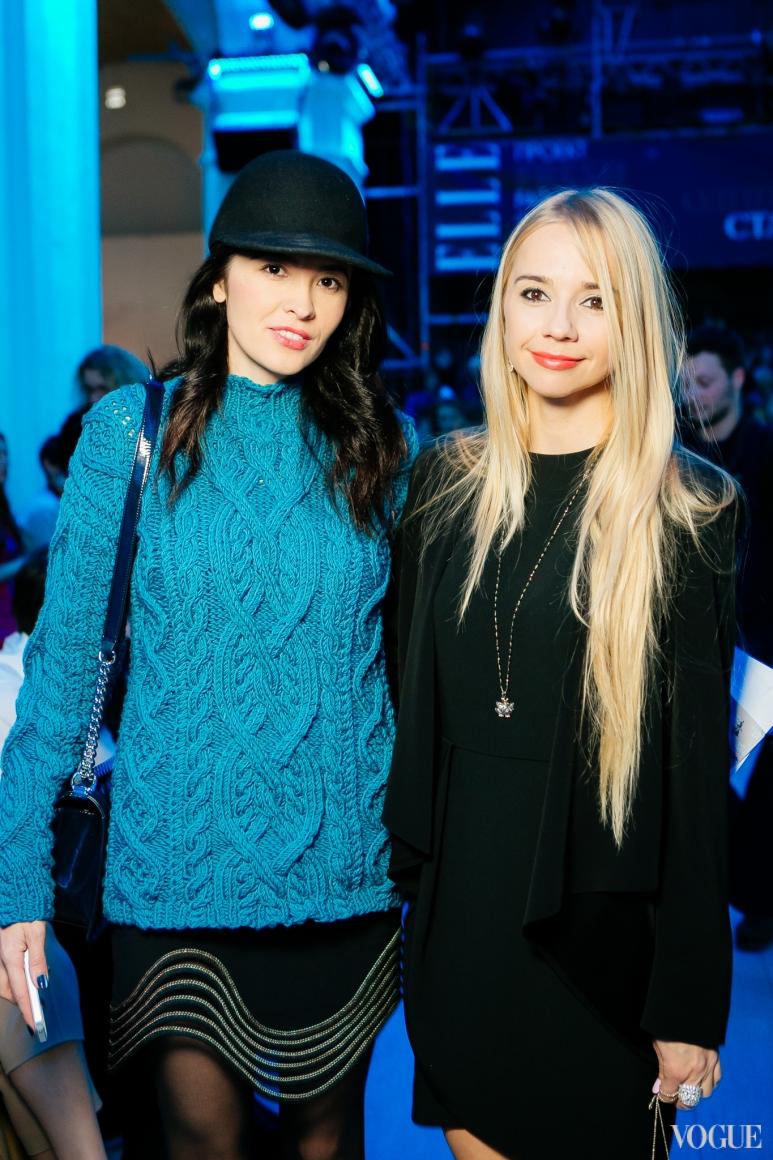 Елена Рева и Ирина Турбаевская