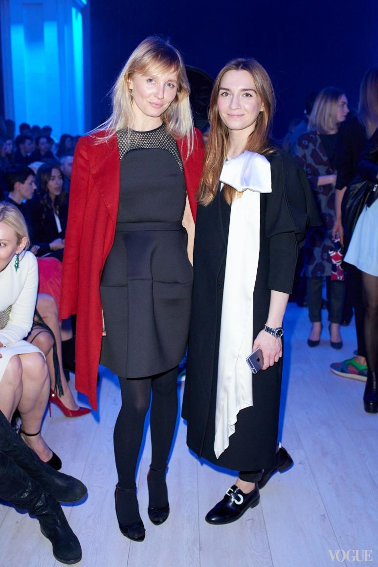 Анна Пащенко и Елена Пащенко