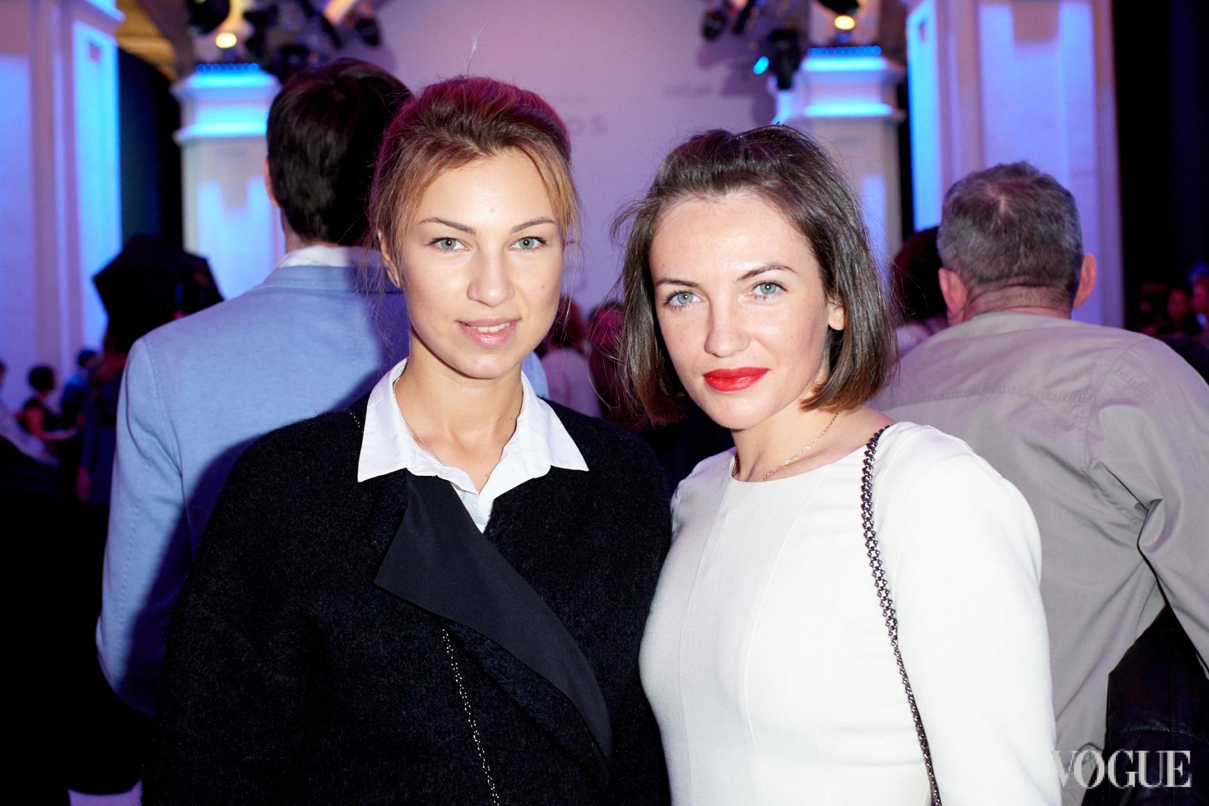 Яна Бучко и Кристина Синицкая