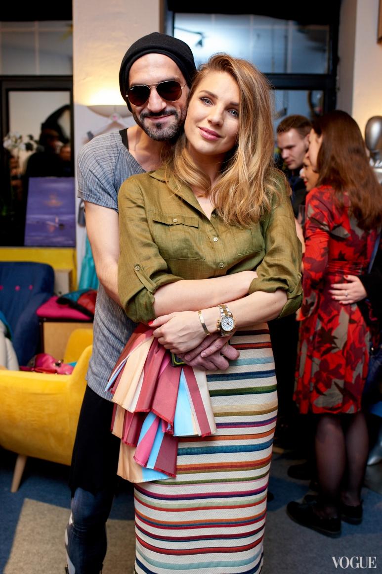Валерий Топал и Катя Сильченко