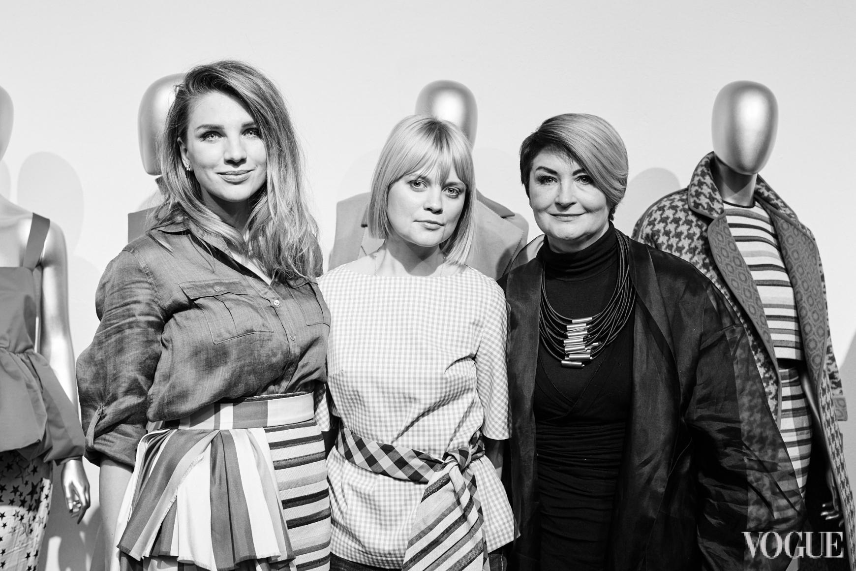 Катя Сильченко, Ксения Киреева и Ирина Данилевская