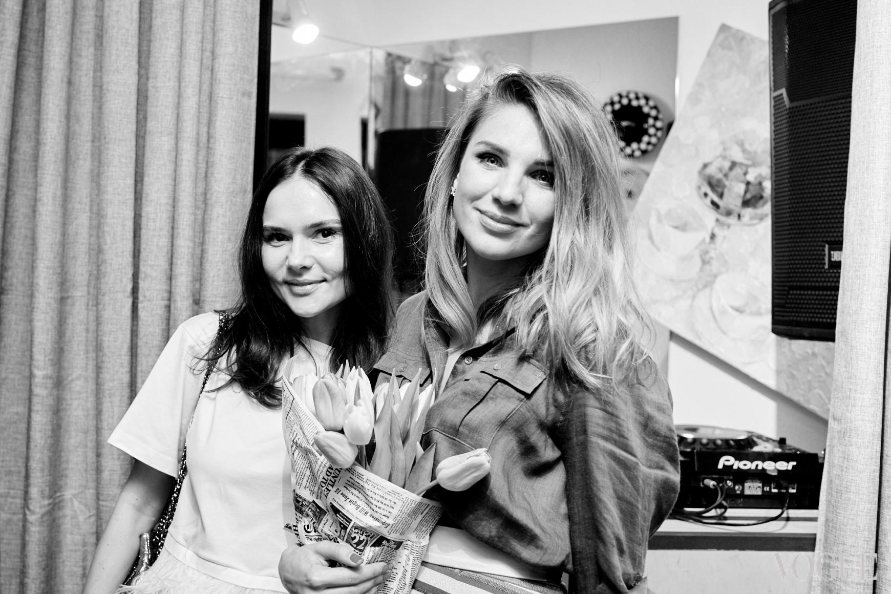 Алена Лавренюк и Катя Сильченко