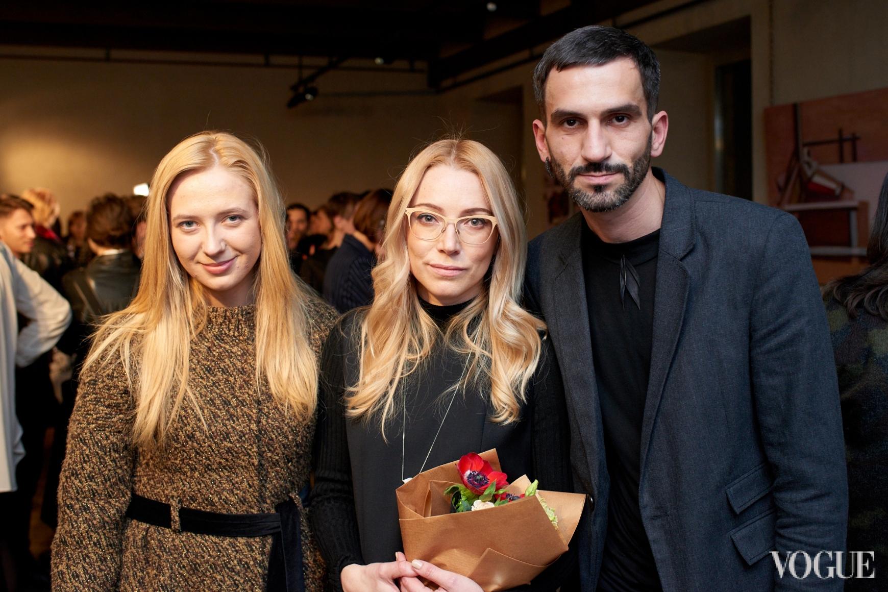 Инга Вишневская, Ирина Каравай и Валерий Топал
