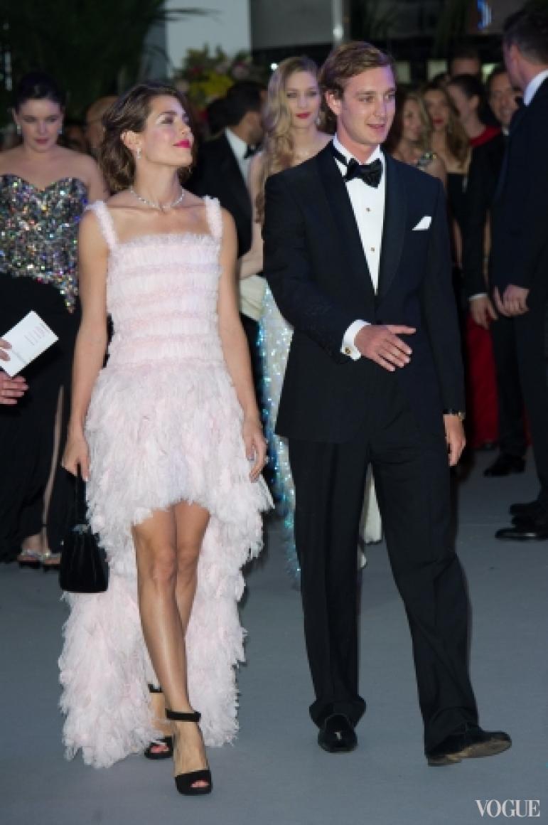 Шарлотта и Пьер Казираги