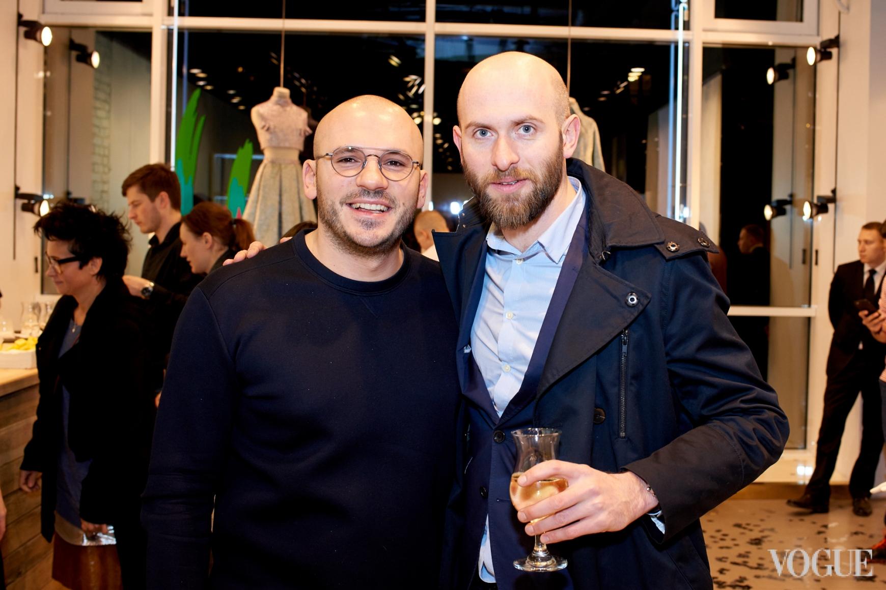Дмитрий Евенко и Владимр Кадыгроб