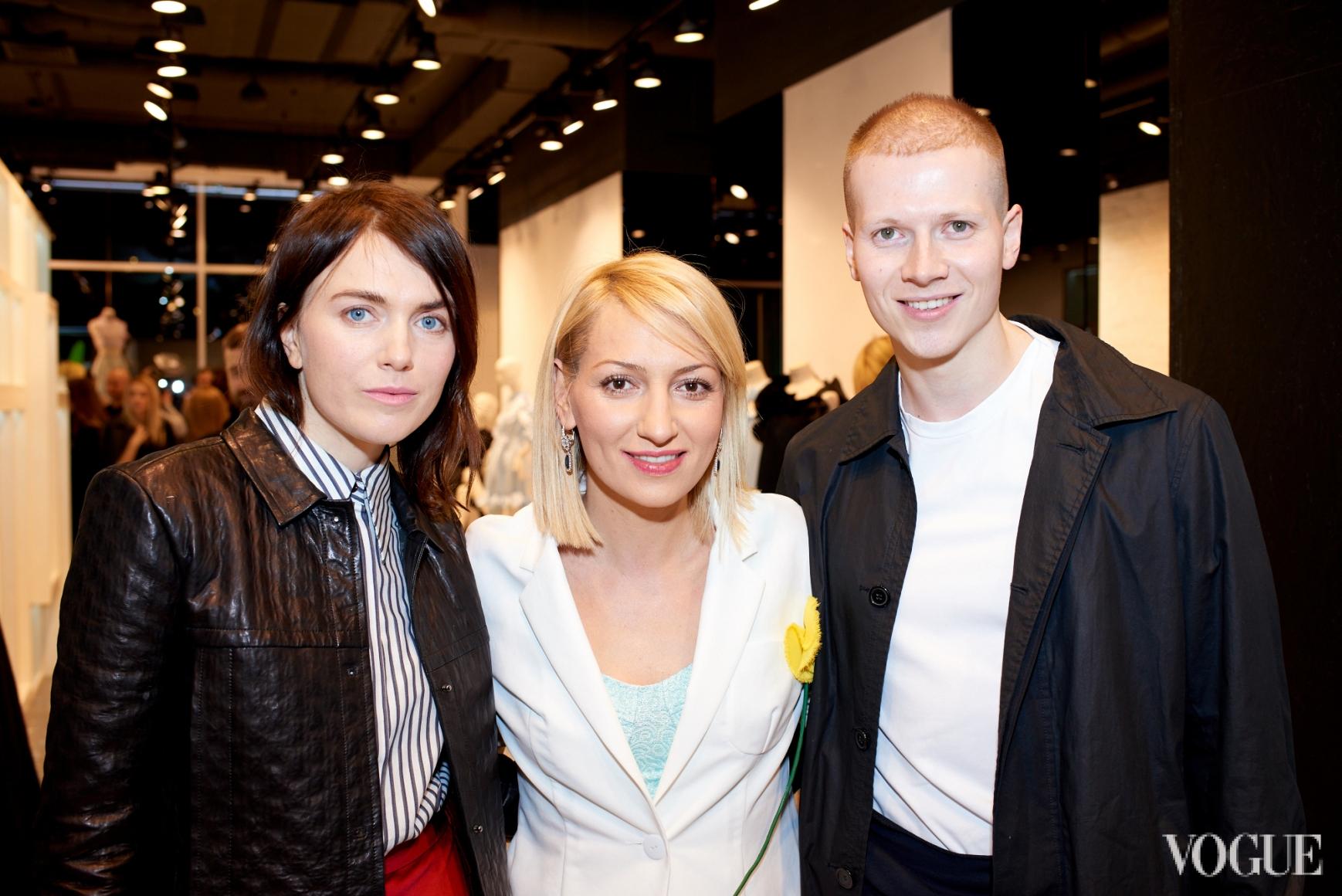 Лилия Литковская, Ася Мхитарян и Веня Брыкалин