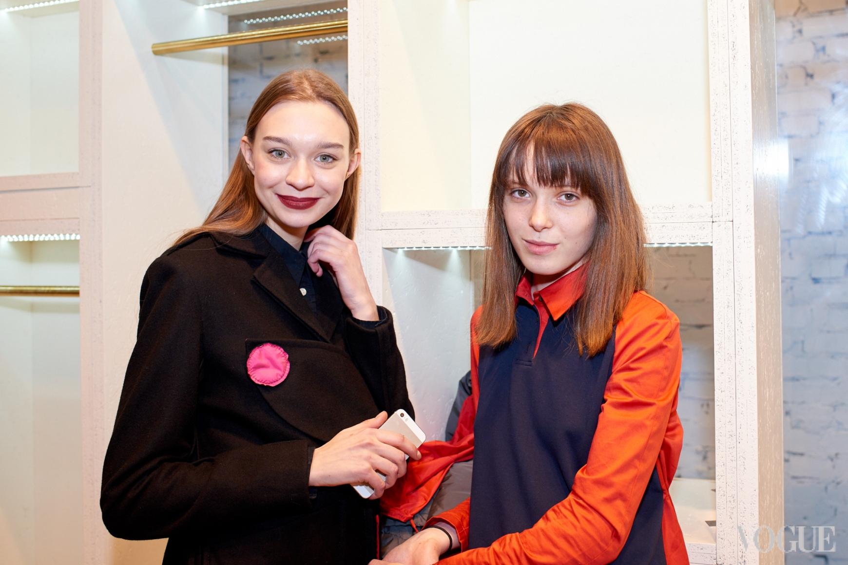 Анна Зосимова и Анна Коломоец
