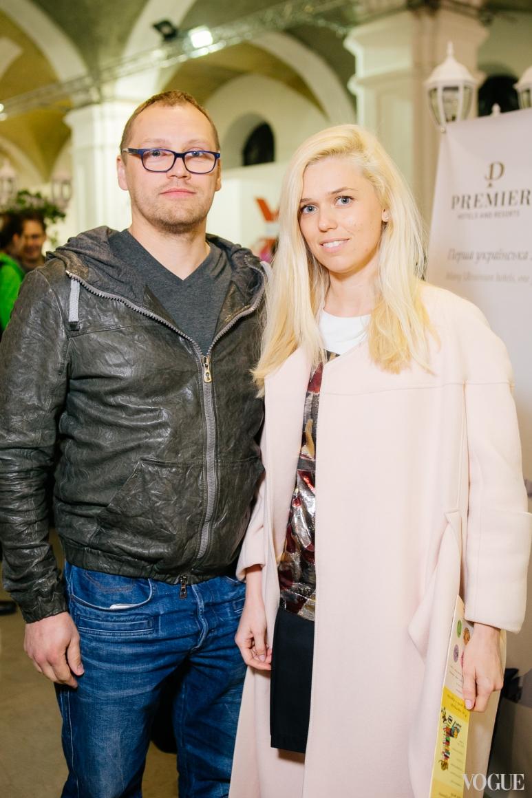 Андрей Федорив и Ярослава Гресь