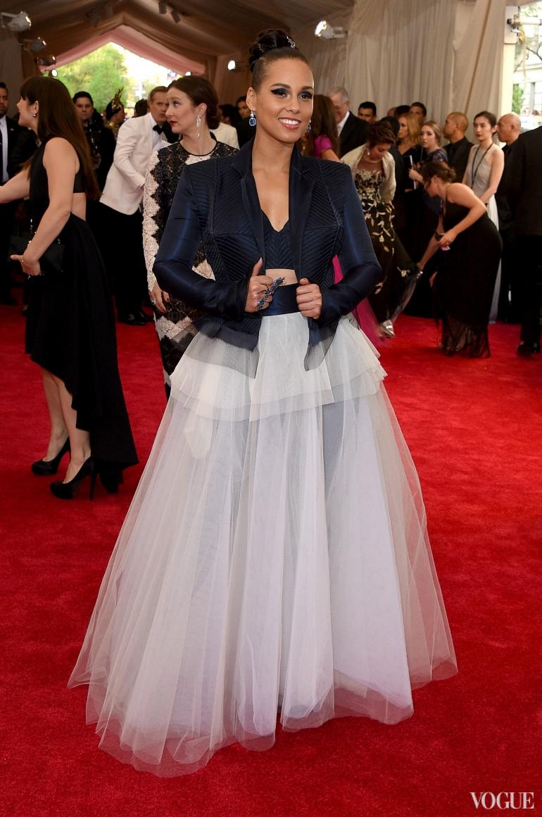 Алишиа Кис в Jean Paul Gaultier Couture