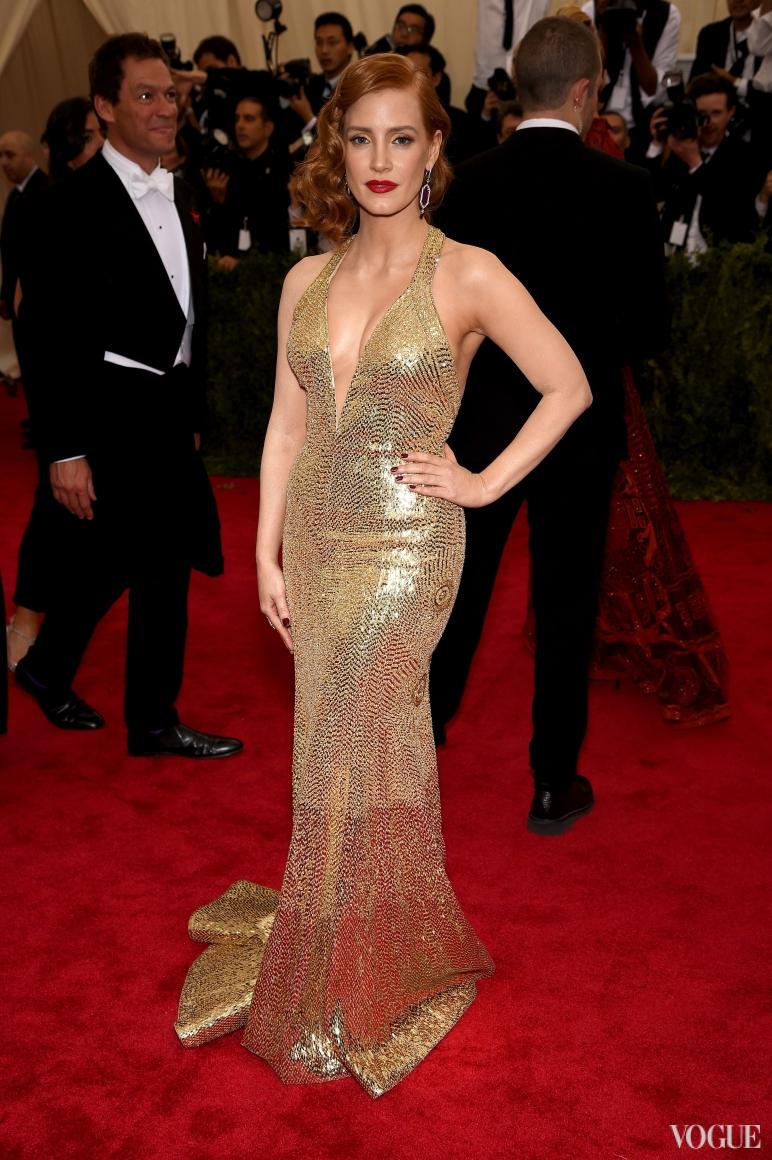 Джессика Честейн в Givenchy