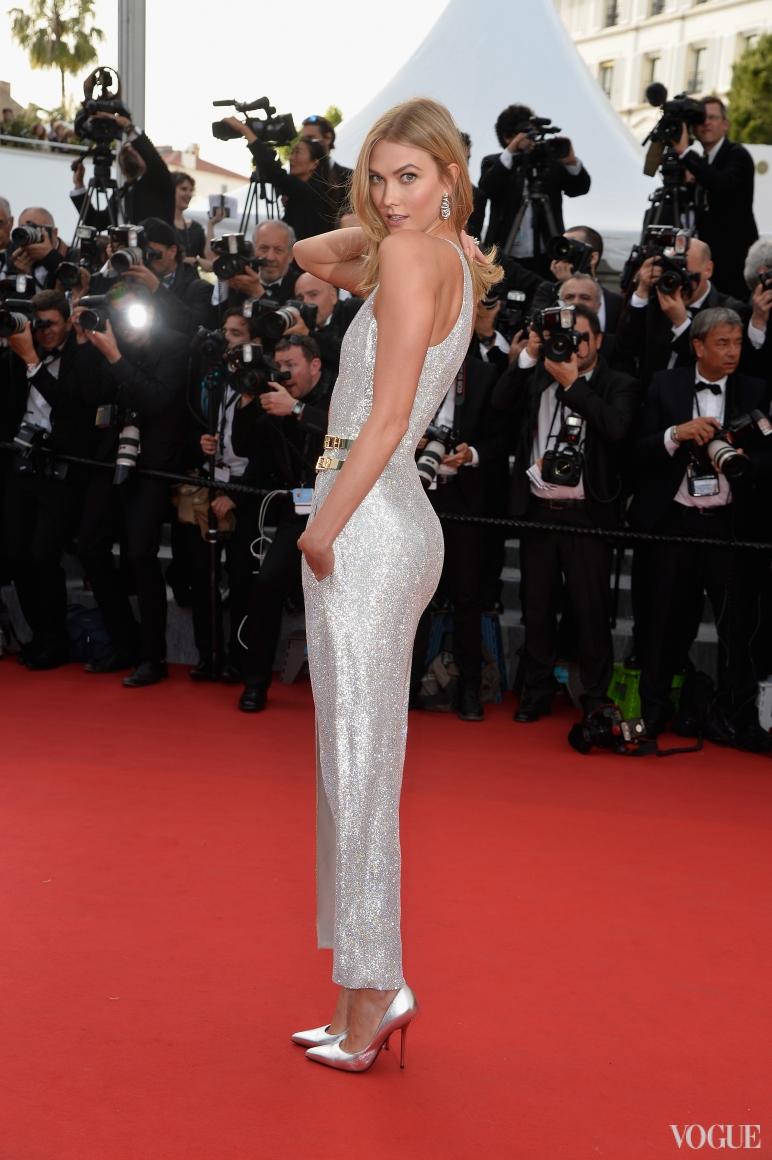 Карли Клосс в Atelier Versace