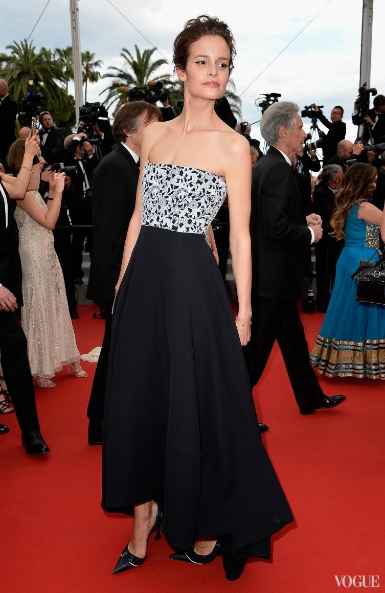 Шарлотта Коярд в Christian Dior