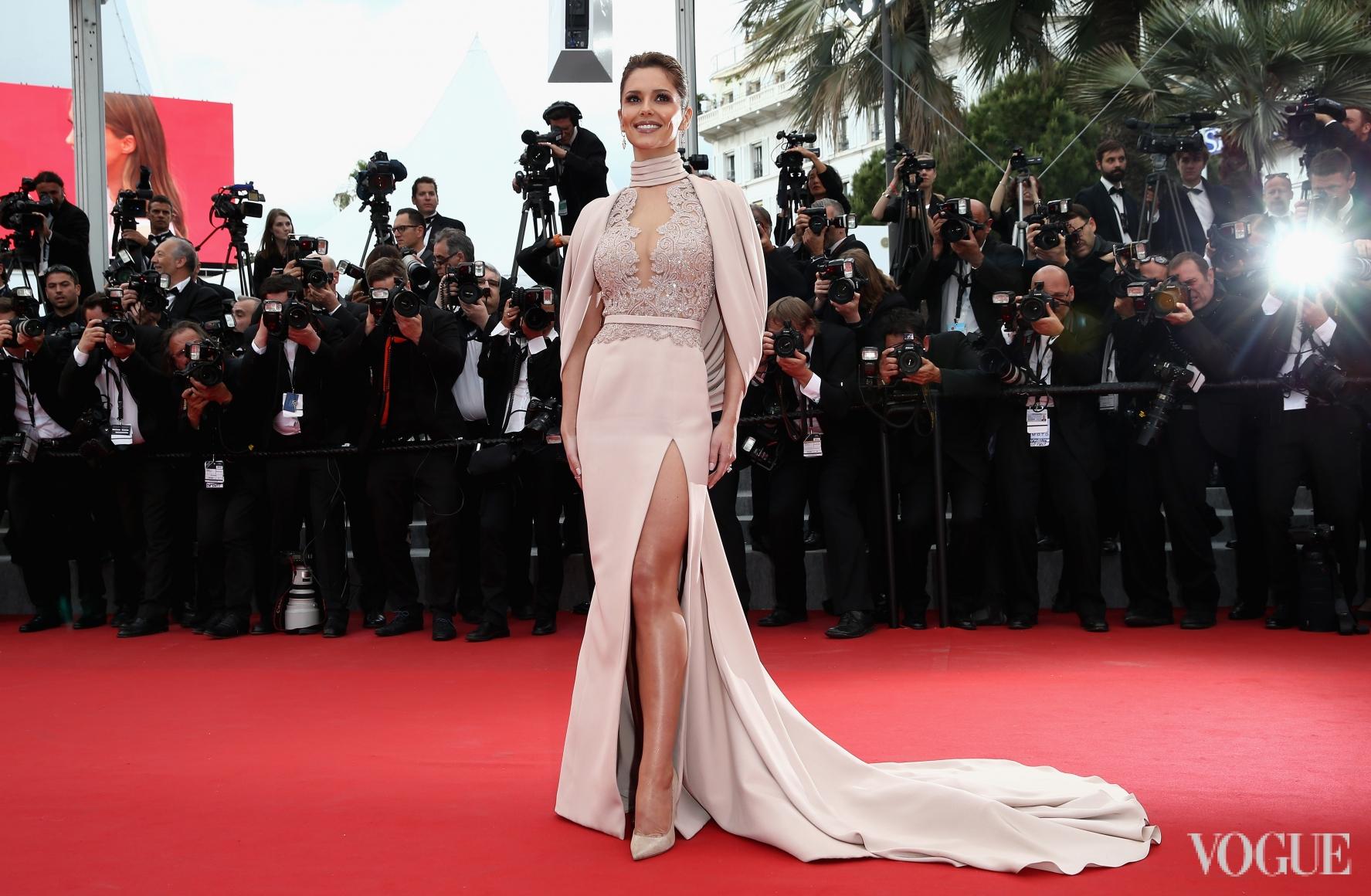 Шерил Фернандес-Версини в Ralph & Russo Couture