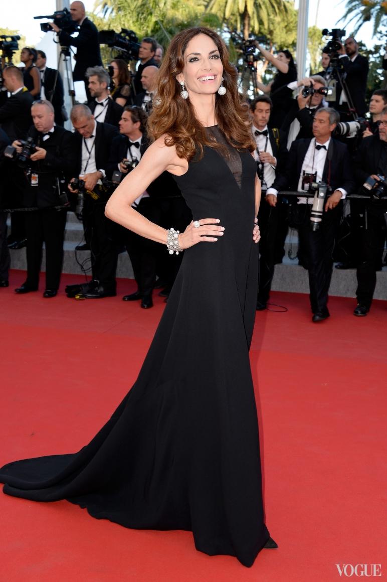 Евгения Сильва в Christian Dior
