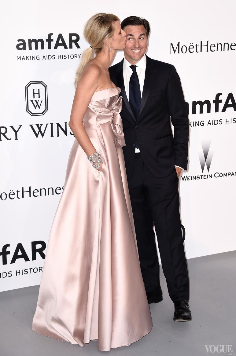 Каролина Куркова с мужем Арчи Дрери