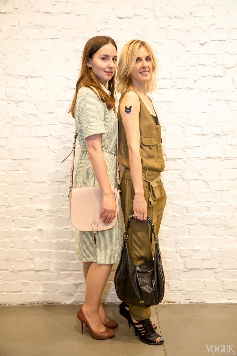 Виолетта Федорова и Юлия Костецкая