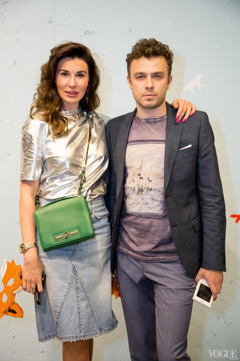 Анастасия Самбурова со спутником