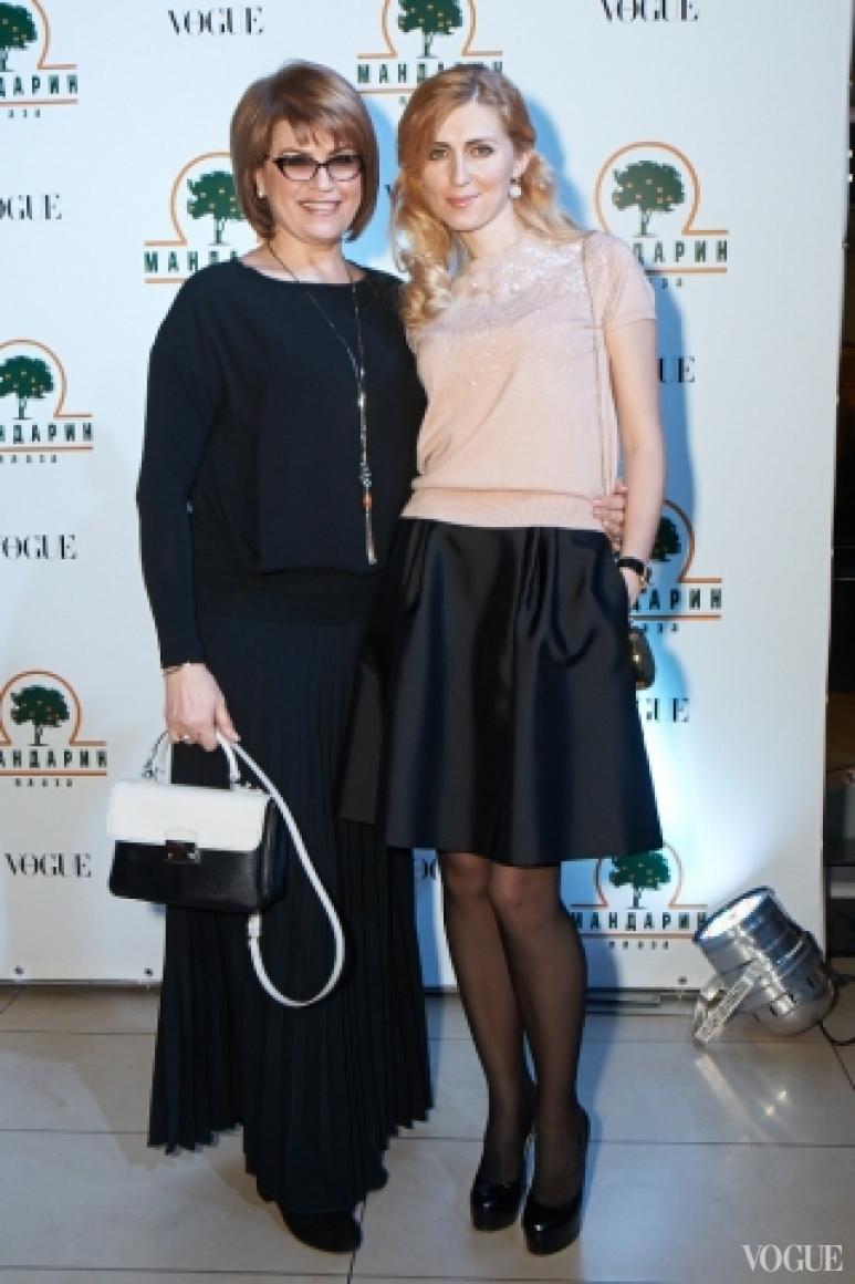 Марина Кинах с дочерью