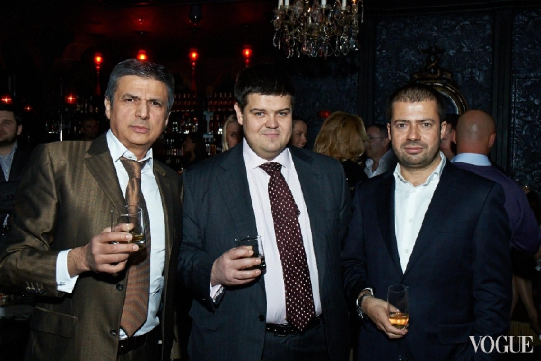 Вагиф Алиев (слева), Александр Черницкий (справа)
