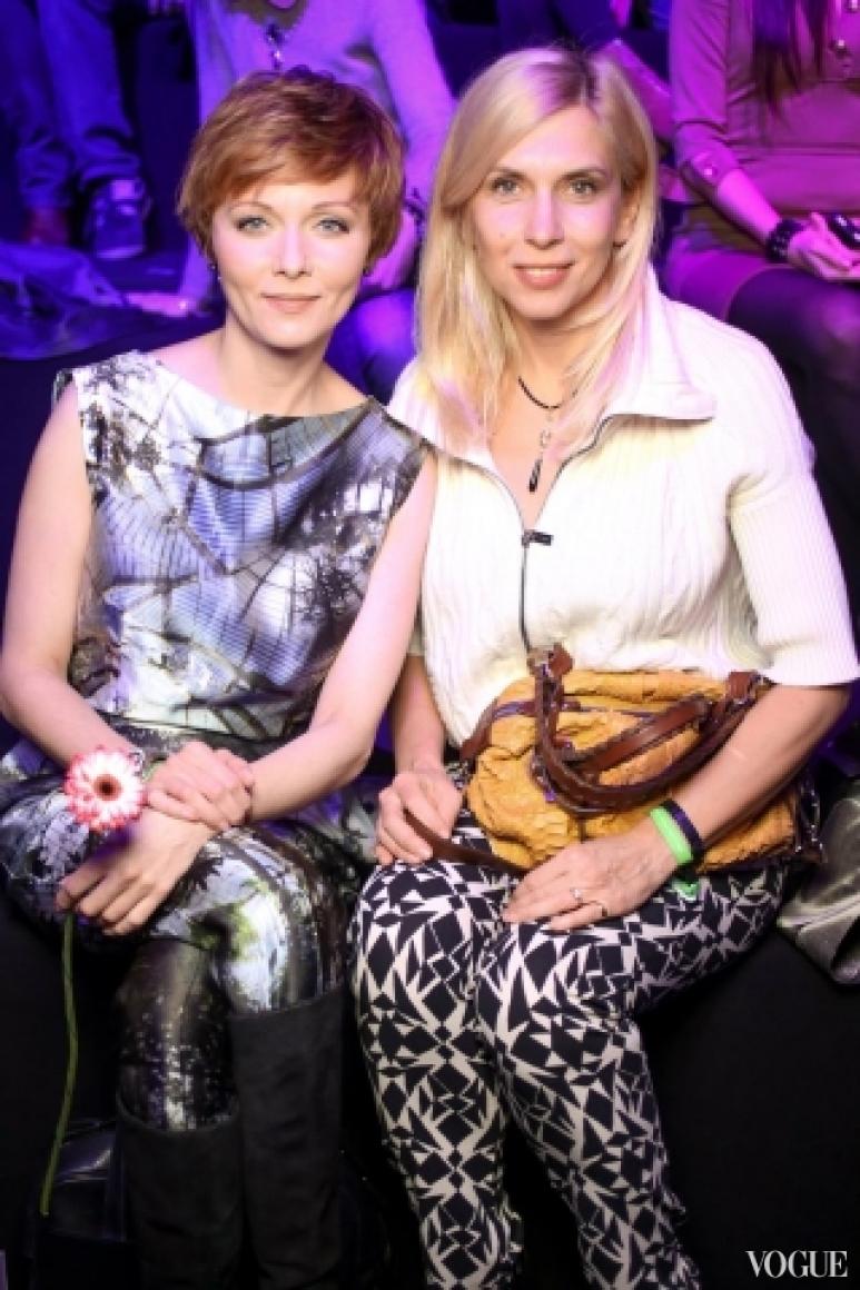 Дарья Поверенова и Алена Свиридова