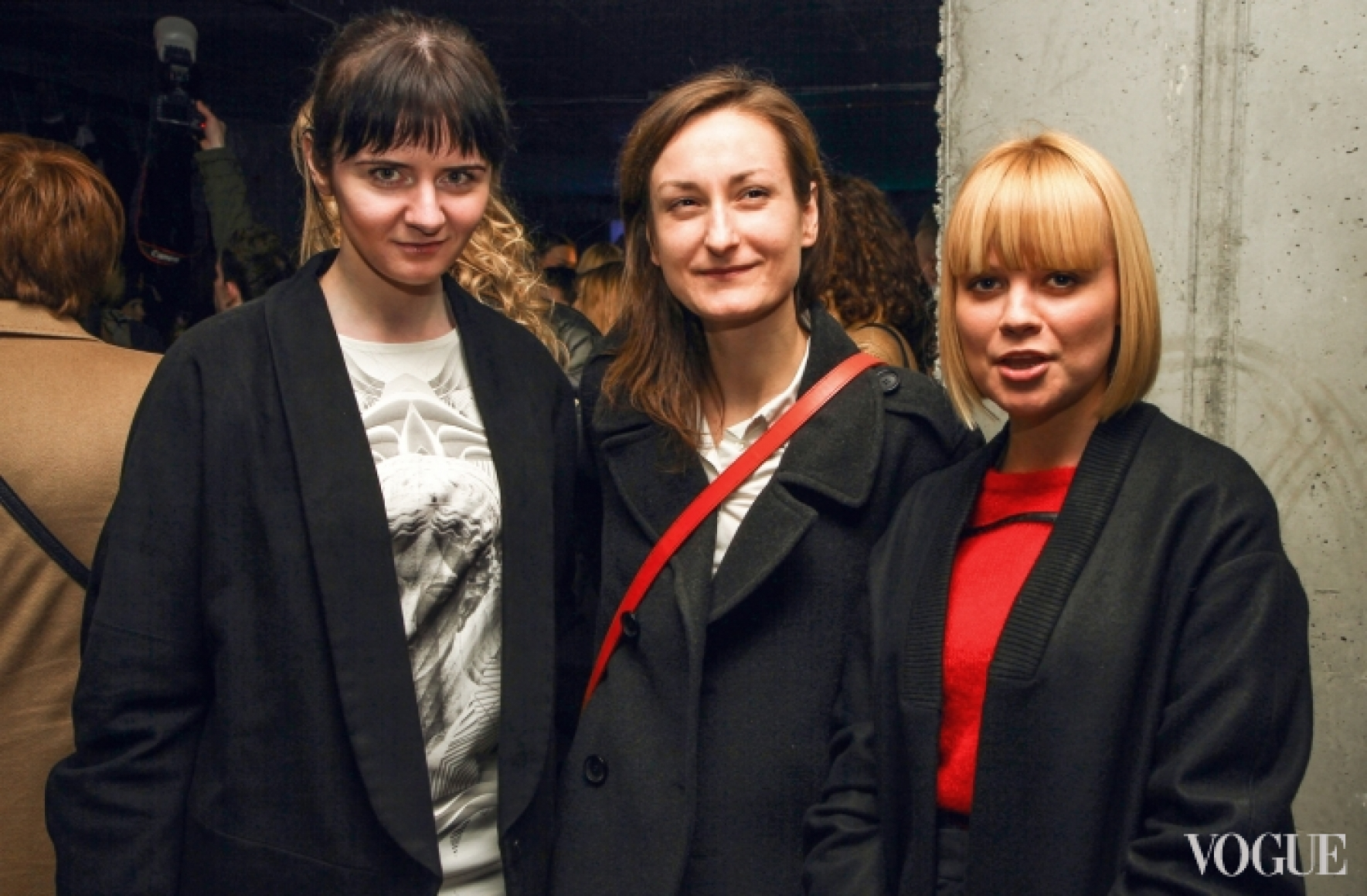 Ольга Януль, Татьяна Соловей и Ксения Киреева